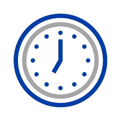 Safe appointment scheduling icon