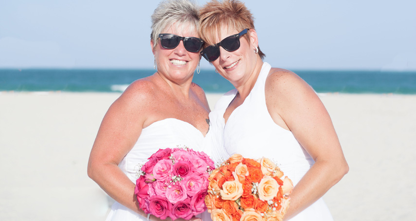 Dawn and Laurie Harbour wedding 2016