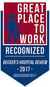 One of 150 Great Places to Work in Healthcare 2017