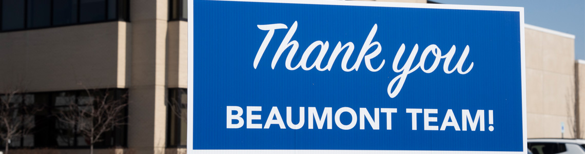 Thank You Beaumont Team