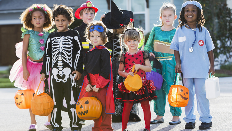 Image result for trick or treaters