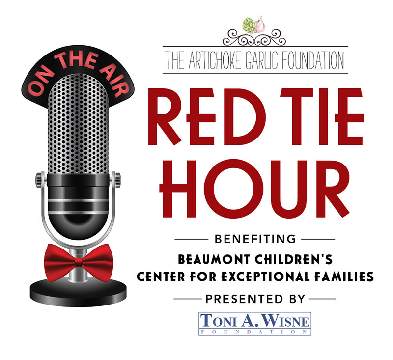 The Red Tie Hour logo