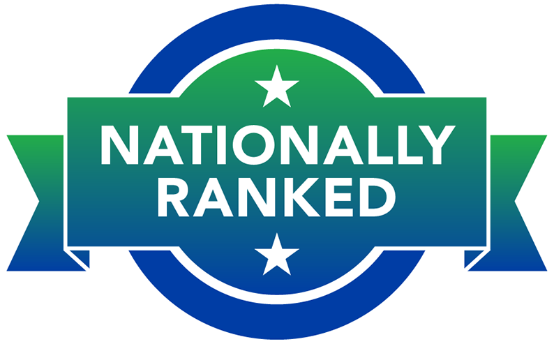 Beaumont nationally ranked health system badge