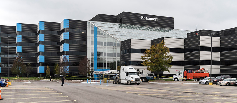 Beaumont Shared Services Building