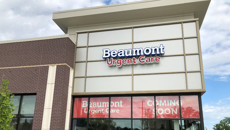 Beaumont Urgent Care at Woodward Corners to open Aug  15