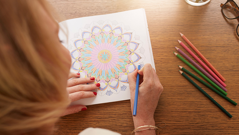 Health Benefits Of Coloring For Adults Beaumont Health