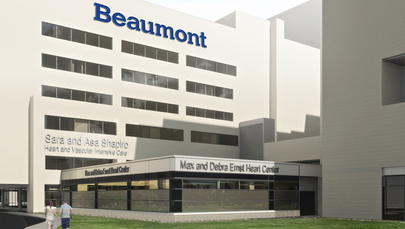 Ernst Heart Center rendering