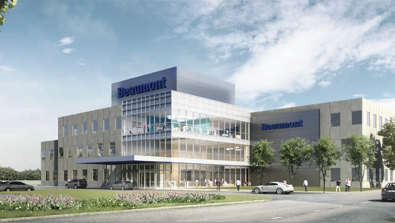 Outpatient campus rendering