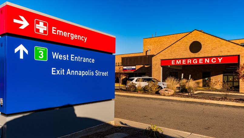 Wayne emergency center